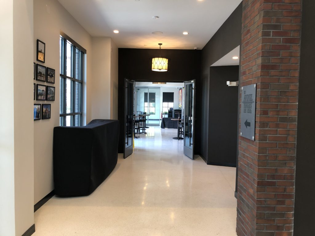 Avenel Arts Center Lobby